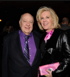 roger ailes wife elizabeth tilson photo