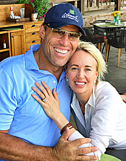 Who is tony robbins married to